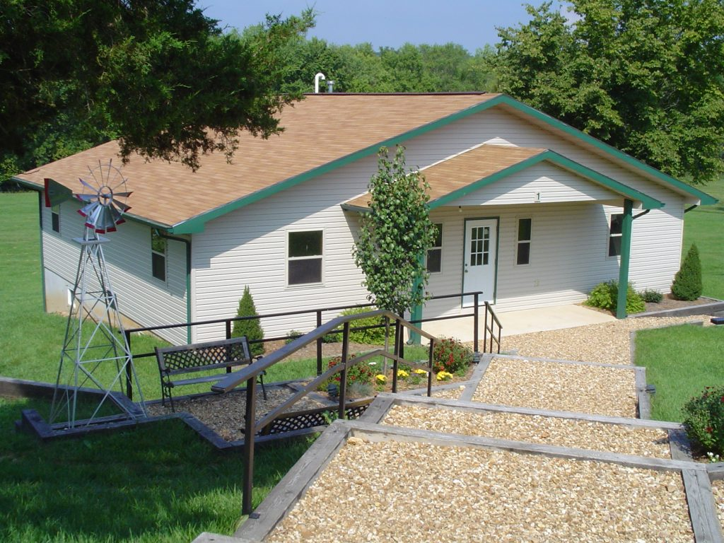 a picture of our cabins